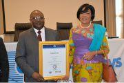 Remise officielle du certificat IOSA à Congo Airways