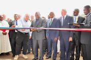 Le Président Joseph Kabila inaugure la centrale hydroélectrique de Matebe/Rutshuru