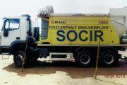 Relance de l'usine des émissions des bitumes de la SOCIR